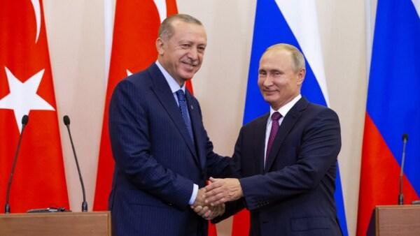 Vladimir PUtin Recep Tayyip Erdogan Idlib Turquía Rusia
