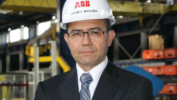Vicente Maga�a / presidente ABB M�xico