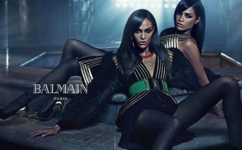 Tanto Joan Smalls como Gigi Hadid y Kendall Jenner aparecieron en la más reciente pasarela de la firma.