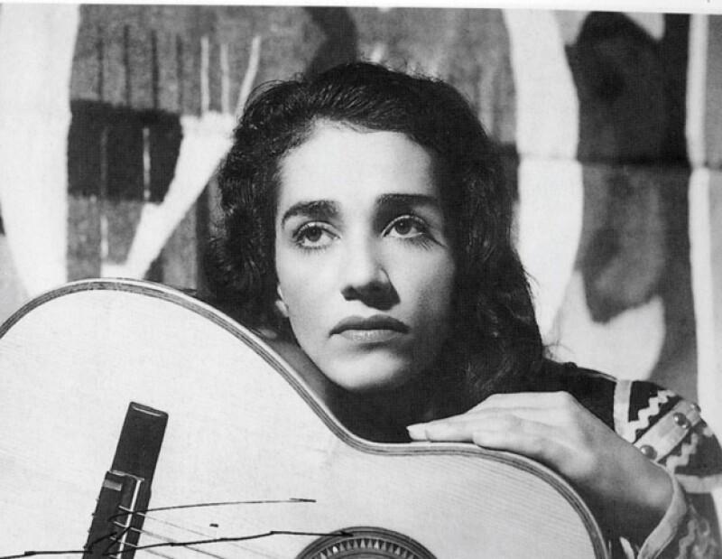 Es una imagen captada en Guatemala, en sus inicios de su carrera.