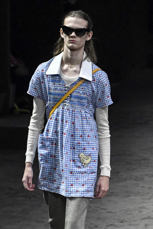Gucci show, Runway, Autumn Winter 2020, Milan Fashion Week Men's, Italy - 14 Jan 2020