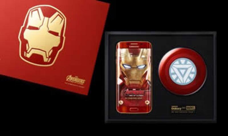 La edición Iron Man tiene un rojo vibrante y tonos dorados similares al icónico traje del superhéroe. (Foto: Samsung.com )