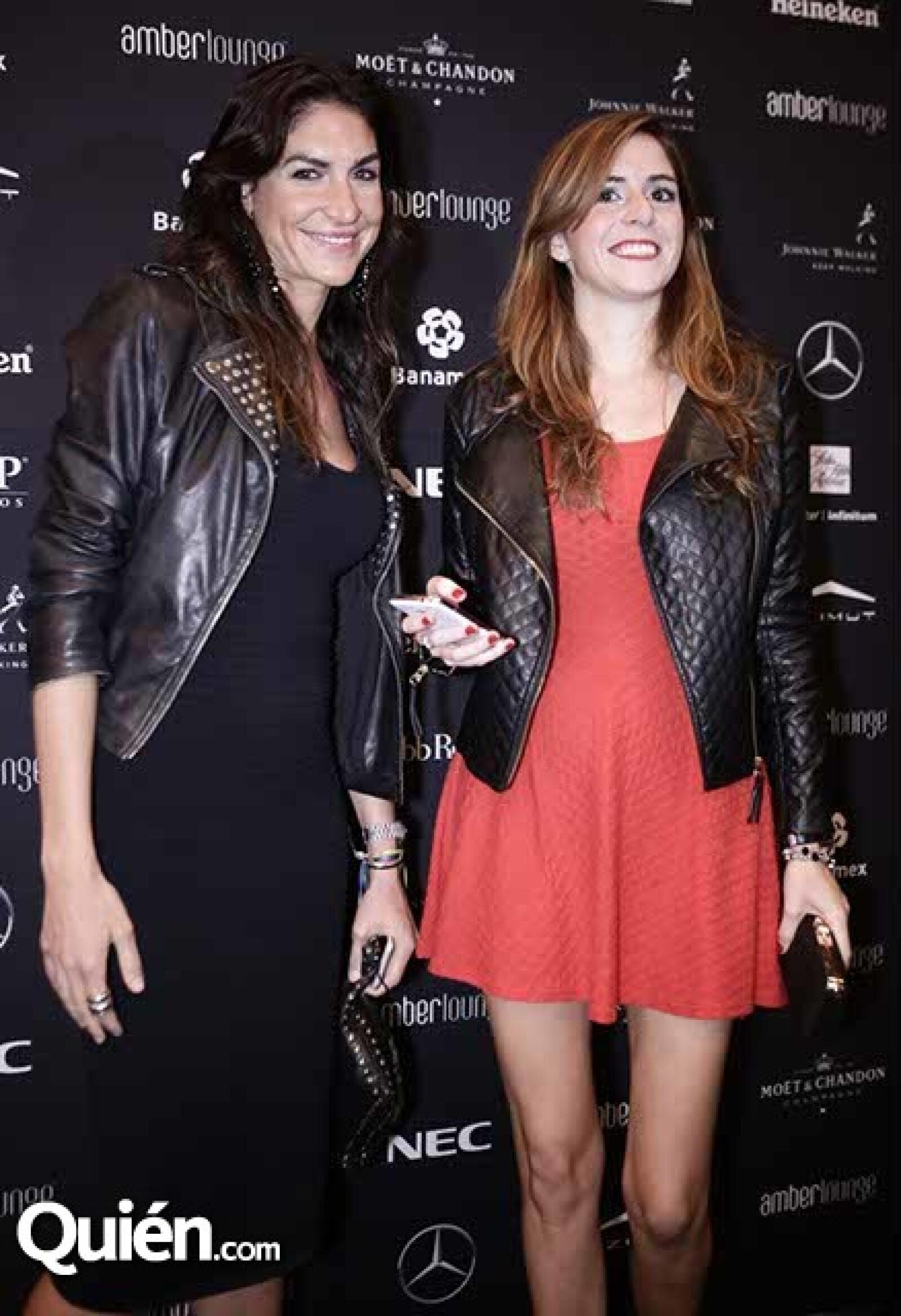 Laura de la Fuente y Andrea Garin