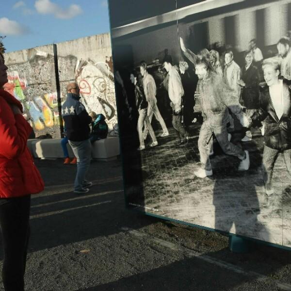 25 aniversario, caída Muro, Berlín