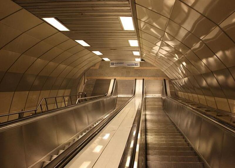 Escaleras mec�nicas