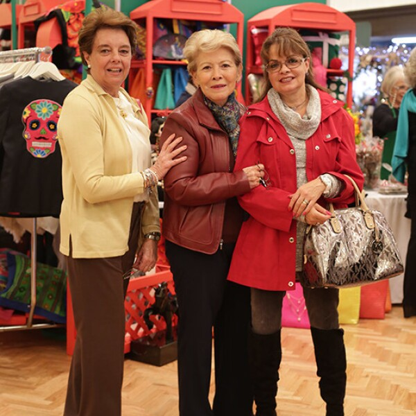 Maribel Curis,Laura Vázquez y Lenis Lascurain