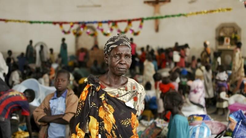 desplazados Sudan del Sur