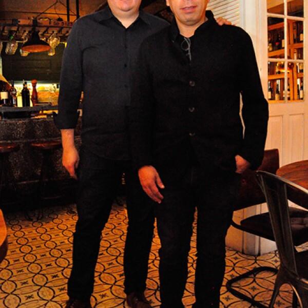 Pepe Moyao y Ruysdael Vivanco
