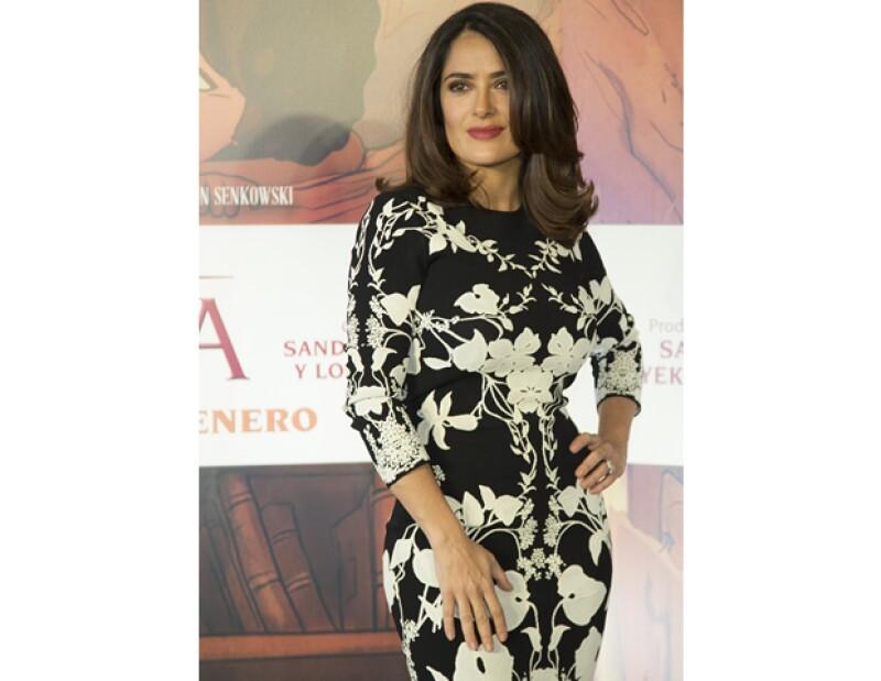La actriz mexicana estuvo en su país para presentar su nueva película El Profeta, por lo que en Quién le organizamos un desayuno en su honor. Por lo que llevó su gran estilo a todos nuestros eventos.