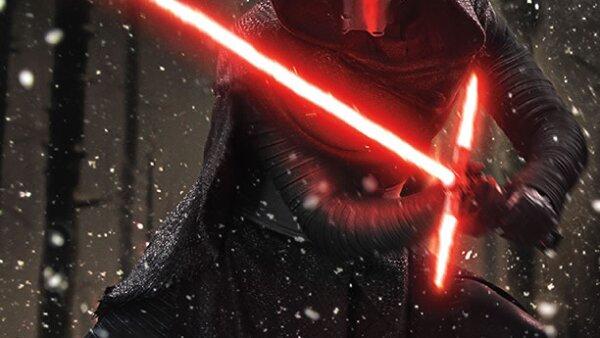 Una imágen de la nueva película de Star Wars.