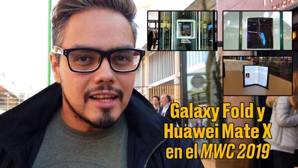 """Samsung Fold y Huawei Mate X, """"vitrinas"""" del futuro de los smartphones"""