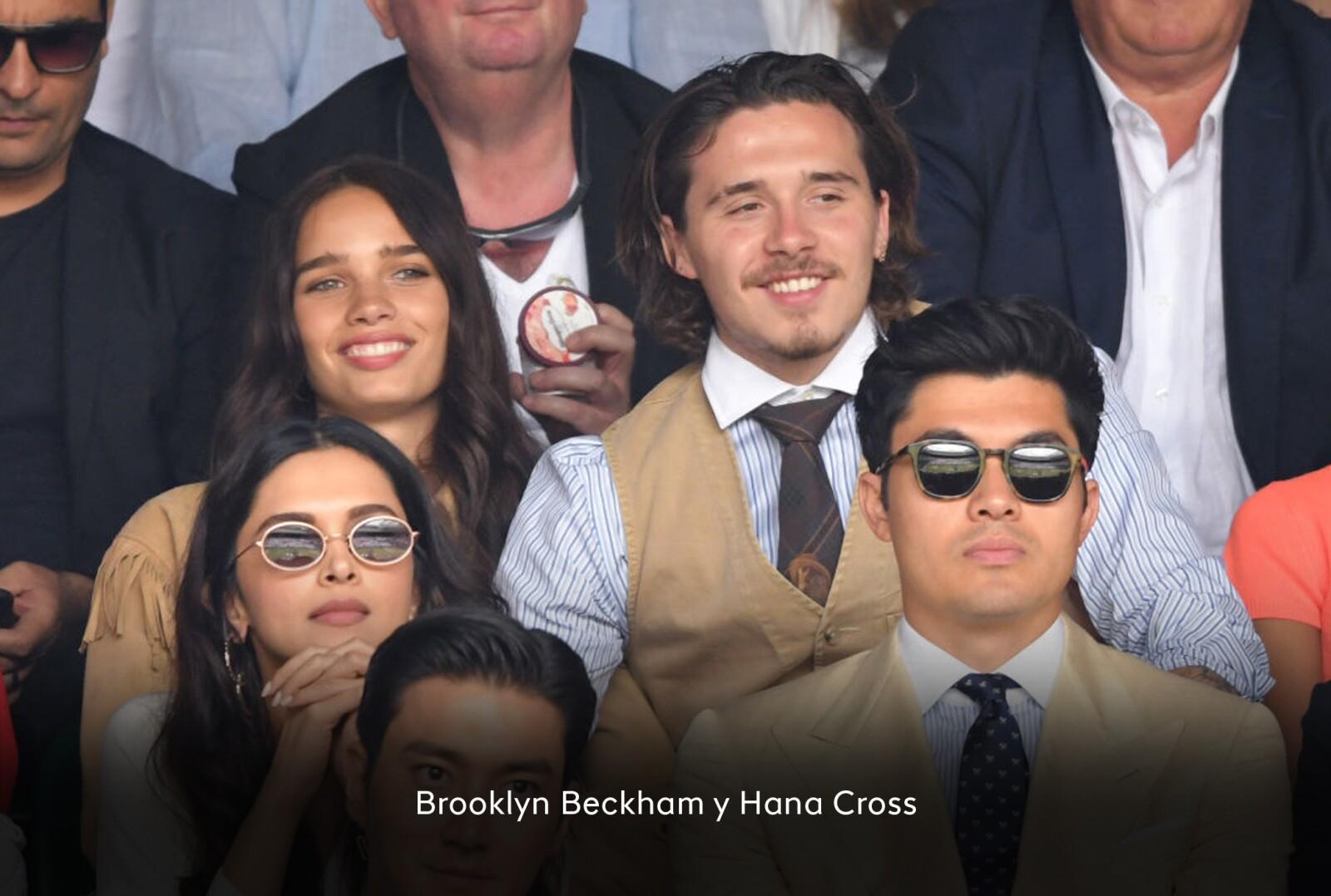 Hana Cross y Brooklyn Beckham