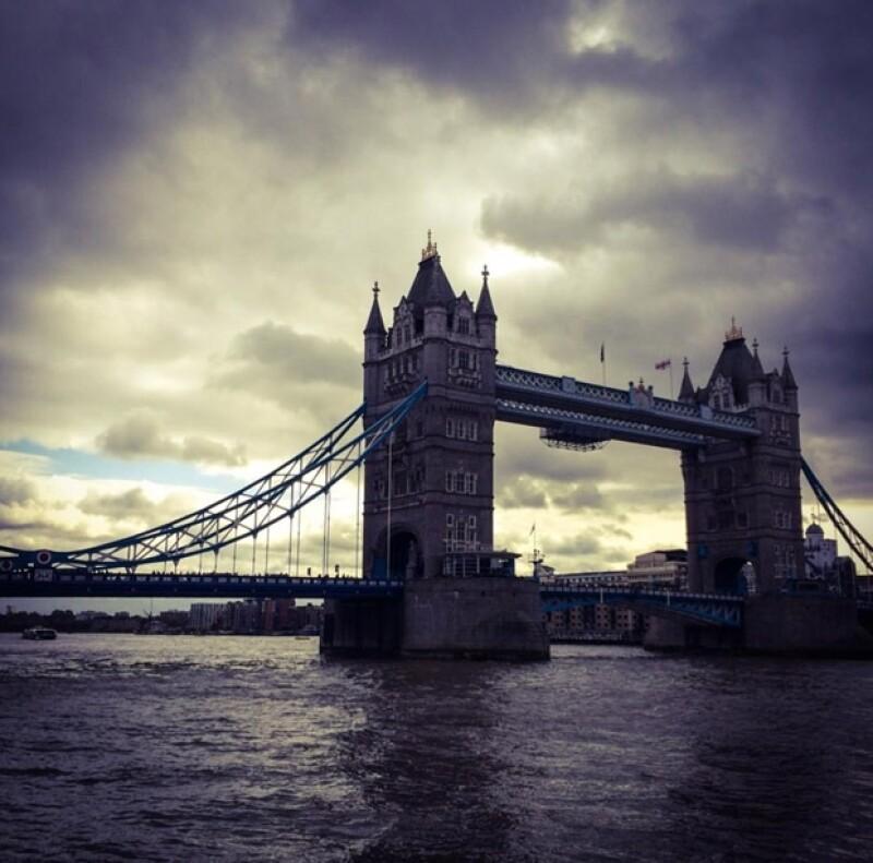 Dominika publicó está foto de su viaje por Londres, el cual parece estar disfrutando. En especial por haber pasado su cumpleaños del otro lado del mundo.