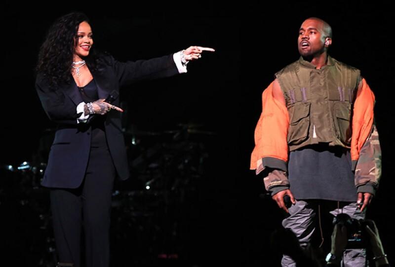 La cantante declaró que sí apoyaría al esposo de Kim Kardashian en su camino a la presidencia de Estados Unidos.
