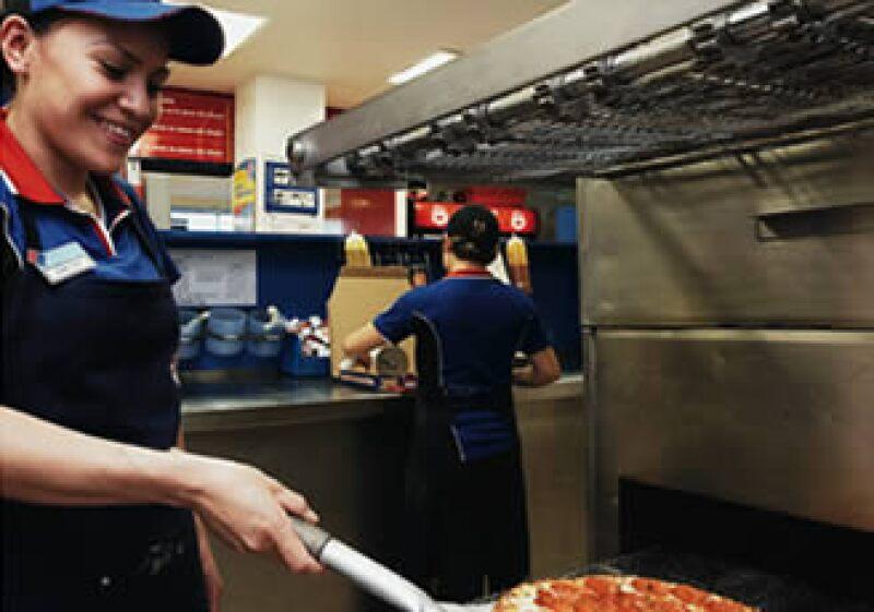 Una nueva receta de pizzas empujó las ventas de la empresa. (Foto: Especial)