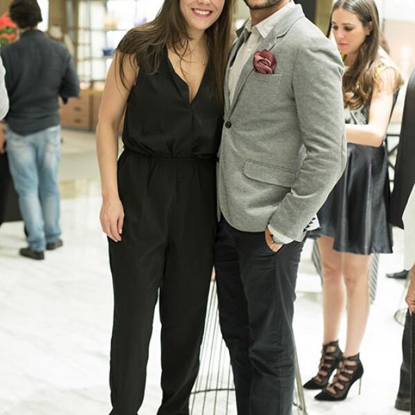 Cristina Alfaro y Juan Pablo Molinar