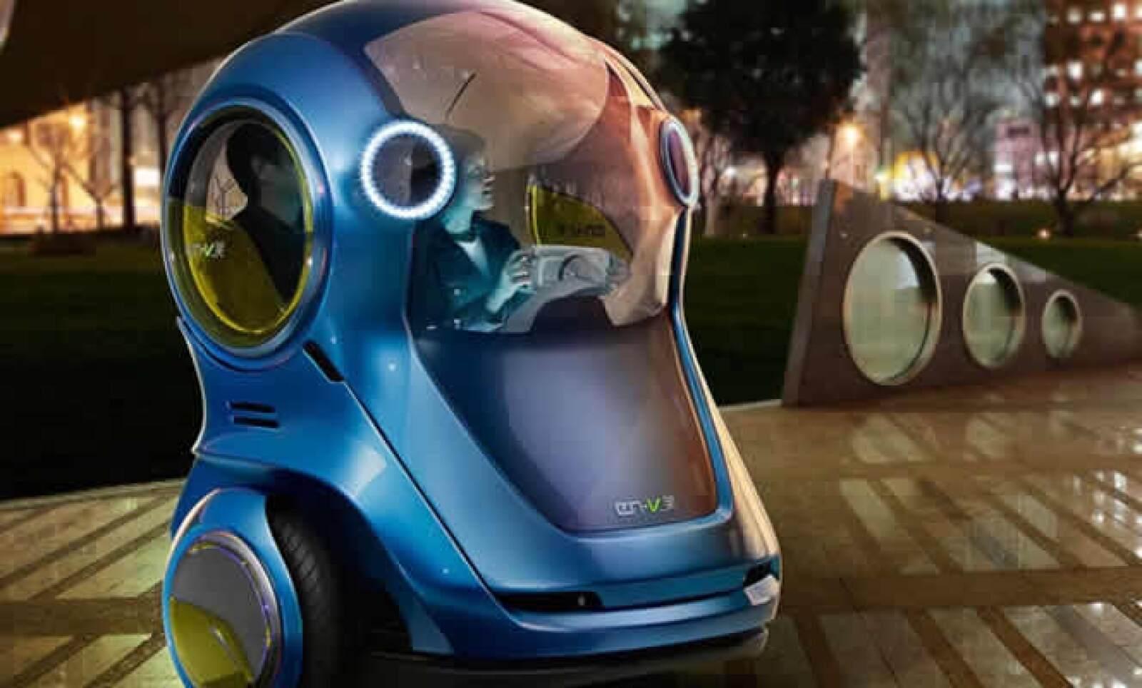 Al combinar el GPS con comunicaciones de vehículo a vehículo y tecnologías sensibles a la distancia, se puede conducir tanto en forma manual como automática.