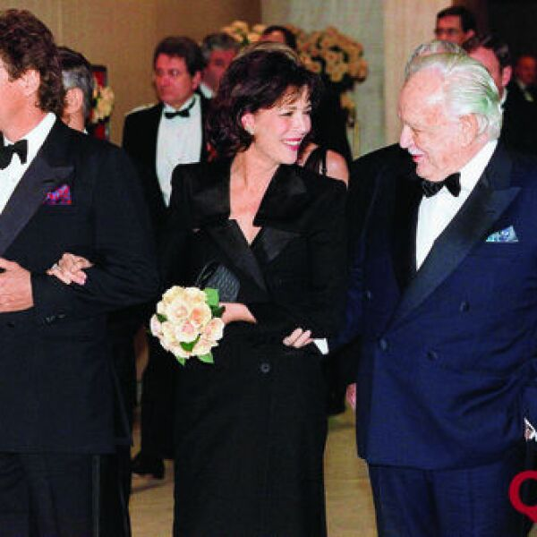 Ernst de Hannover, Princesa Carolina, Principe Rainier de Mónaco, Rainiero