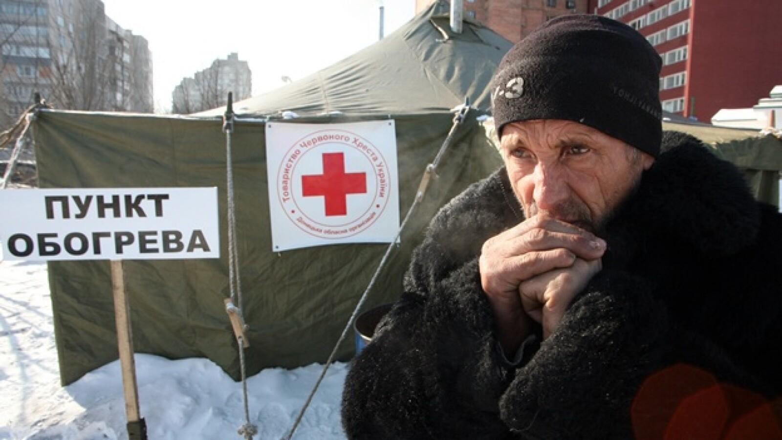 invierno Ucrania Cruz Roja