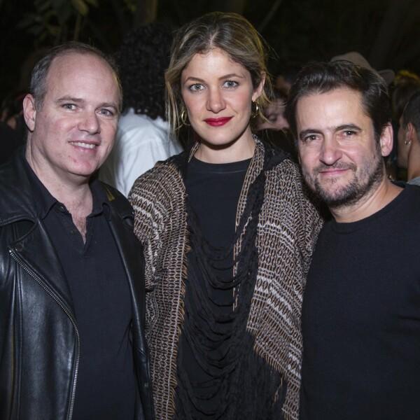 Dillon Coheb, Carolina Lomelì, Carlos Mier y Terán