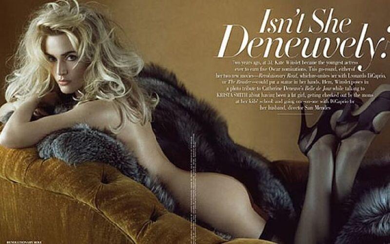 La foto principal del artículo ha sido catalogada como la mejor de toda su carrera como actriz.