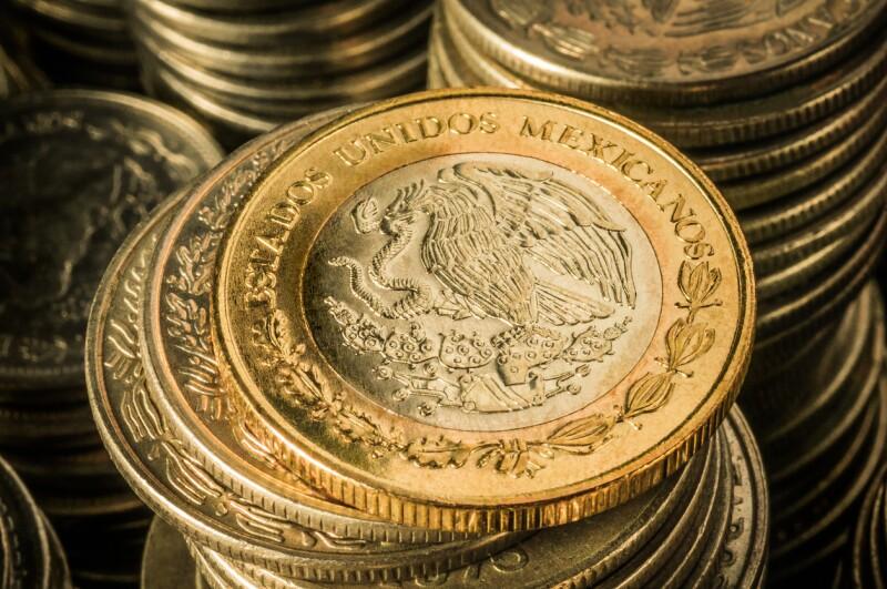 peso moneda mexicana ganancias