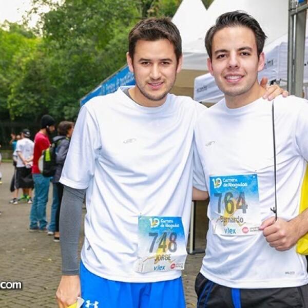 Jorge García y Bernardo Espinosa
