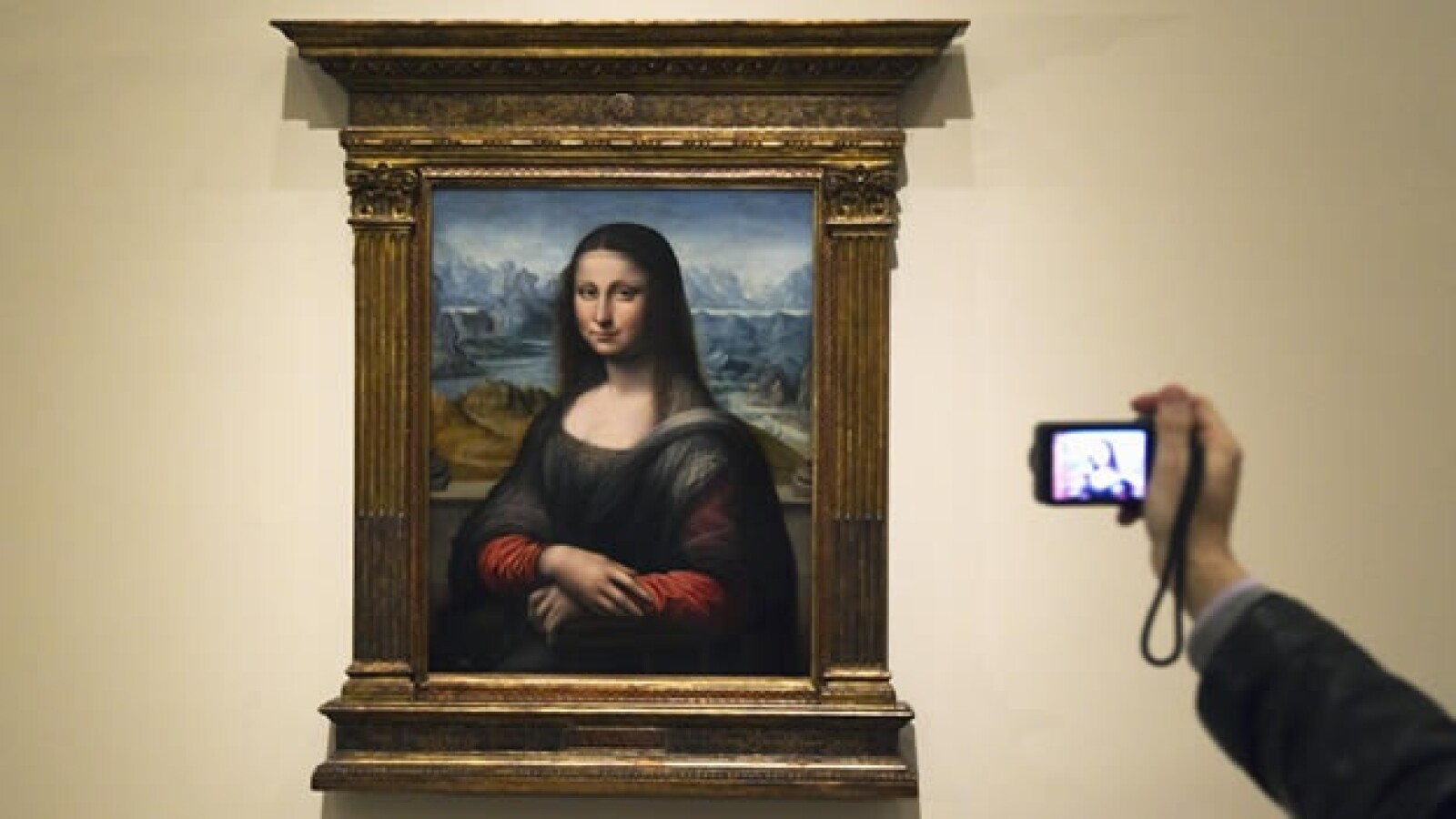 Mona Lisa Gioconda copia