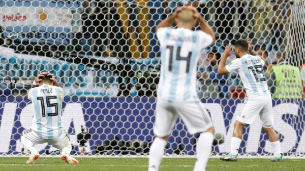 Croacia 3-0 Argentina Rusia 2018