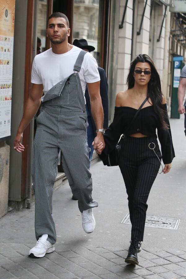 Kourtney Kardashian out and about, Paris Fashion Week, France - 29 Sep 2017