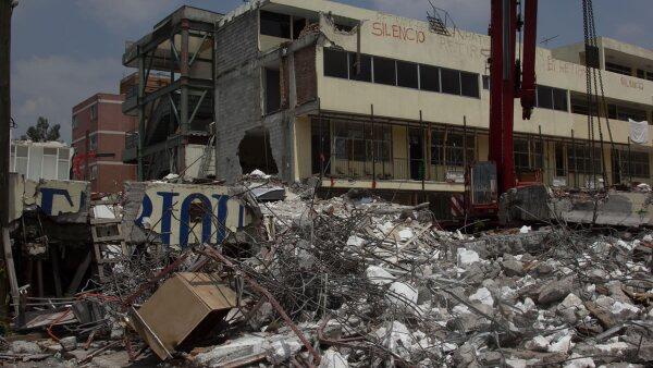 Enrique Rébsamen - derrumbe - sismo