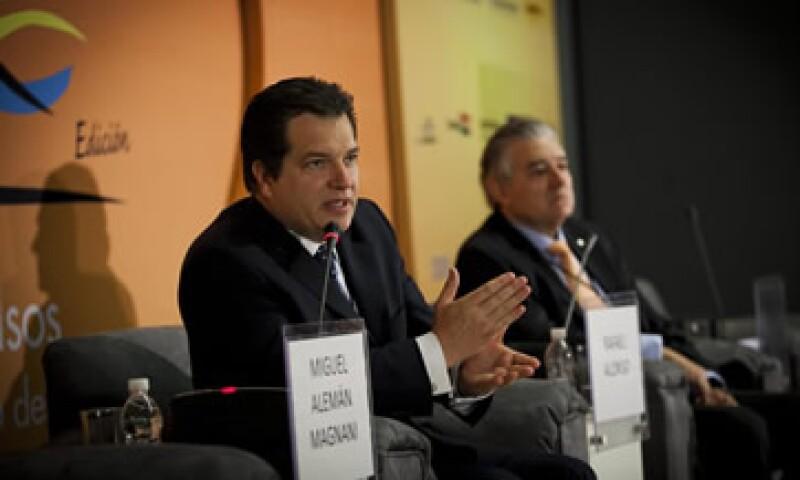 Miguel Alemán Magnani dijo que hay ciudades en México que tienen una oportunidad enorme de conectarse. (Foto: Carlos Aranda/ Mondaphoto)