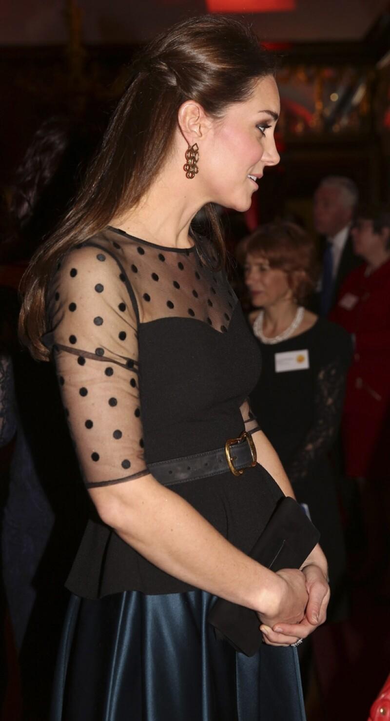 Este tipo de prendas resalta el embarazo de la duquesa de Cambridge.
