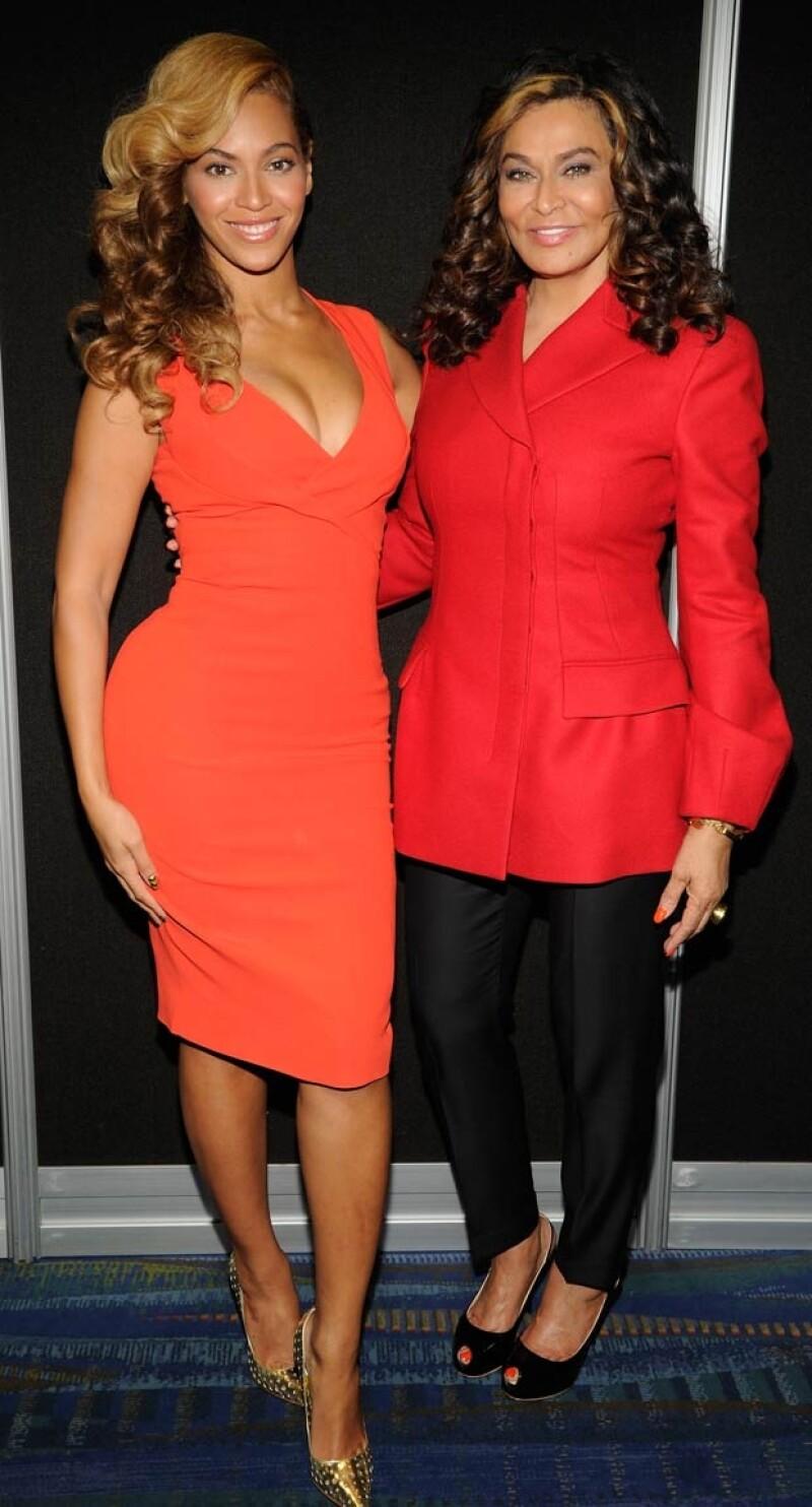 Tina y Beyoncé tienen una relación muy cercana.