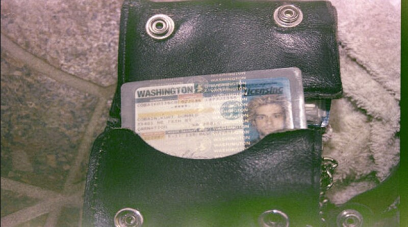 La licencia de Kurt con la que identificaron el cadáver.