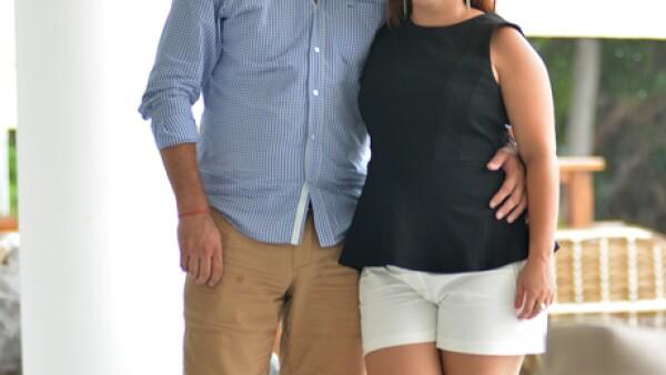 Omar Cortes y Mariana González