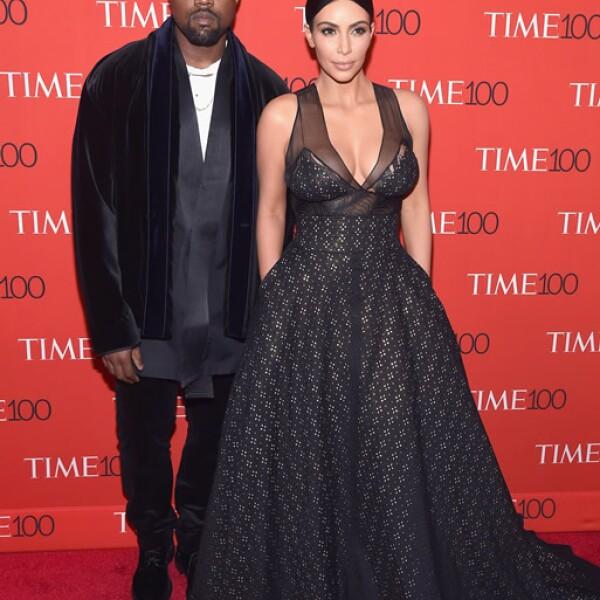 Kanye Wesy y Kim Kardashian