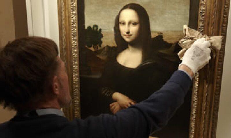 La pintura fue descubierta en 1913 por el coleccionista Hugh Blaker en una casa solariega en el oeste de Inglaterra. (Foto: Reuters)
