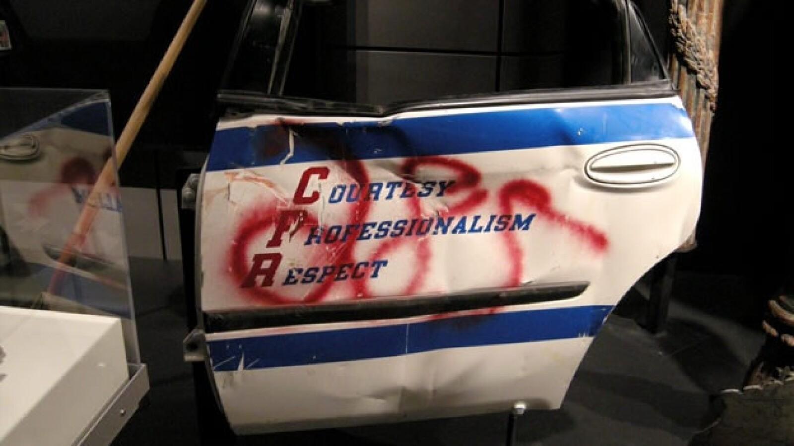 11-S - Newseum - pieza de patrulla