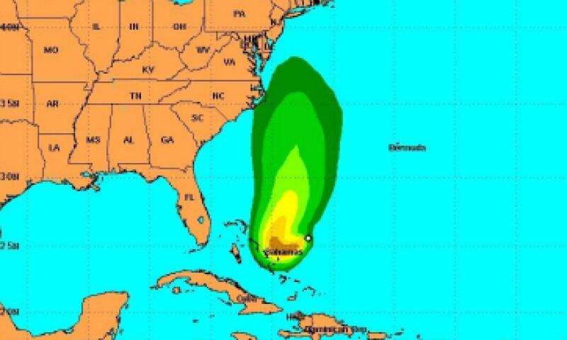 'Joaquín' fue elevado a huracán categoría 1 la mañana de este miércoles. (Foto: National Hurricane Center/ Cortesía)
