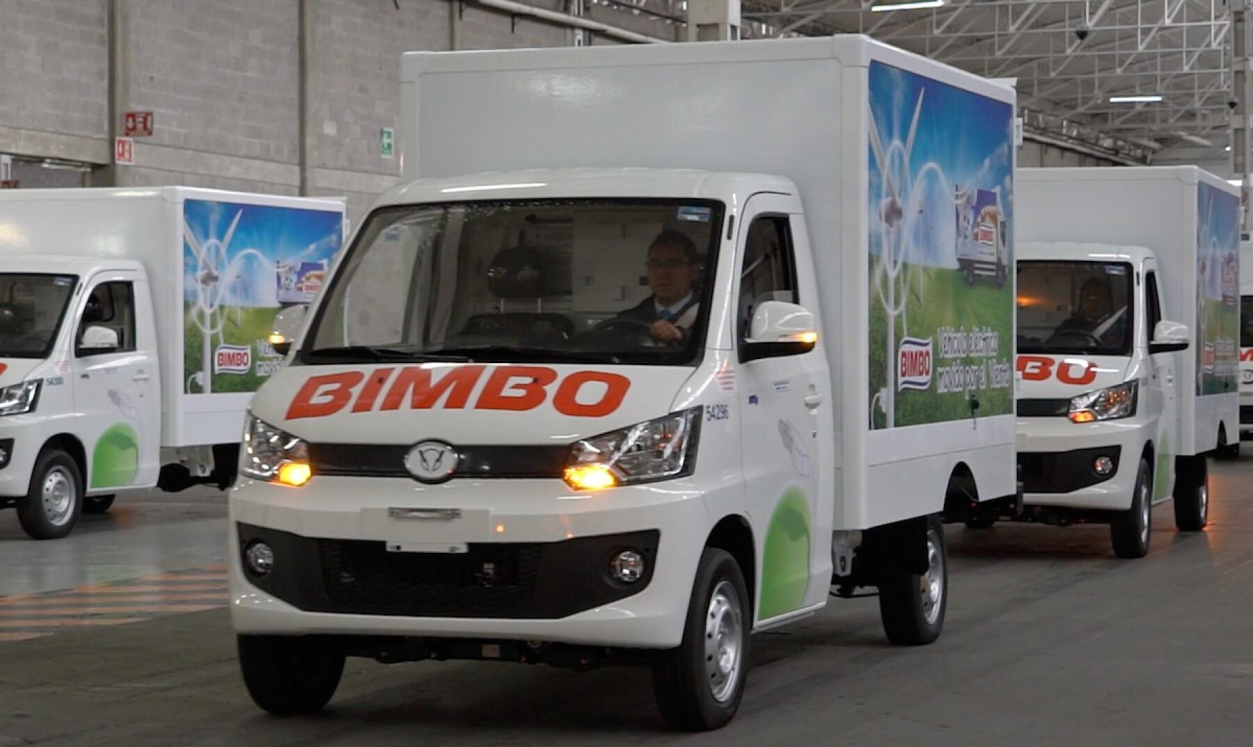 Auto eléctrico Grupo Bimbo