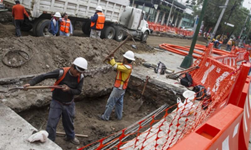 Las obras en Masaryk pretenden agilizar el flujo vehicular, según el Gobierno del Distrito Federal. (Foto: Cuartoscuro)