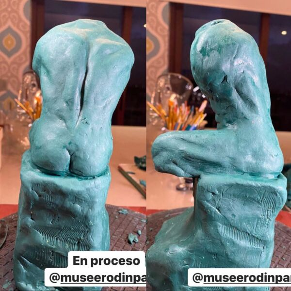 Escultura El Pensador de Rodin hecha por Miguel Torruco 6.jpg