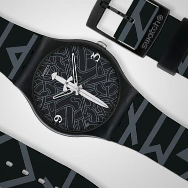 El último modelo de esta colección fue hecho por Haakonsen, con fondo negro y el símbolo de una espada al fondo. Descúbrelo con el título 'North Signs'.