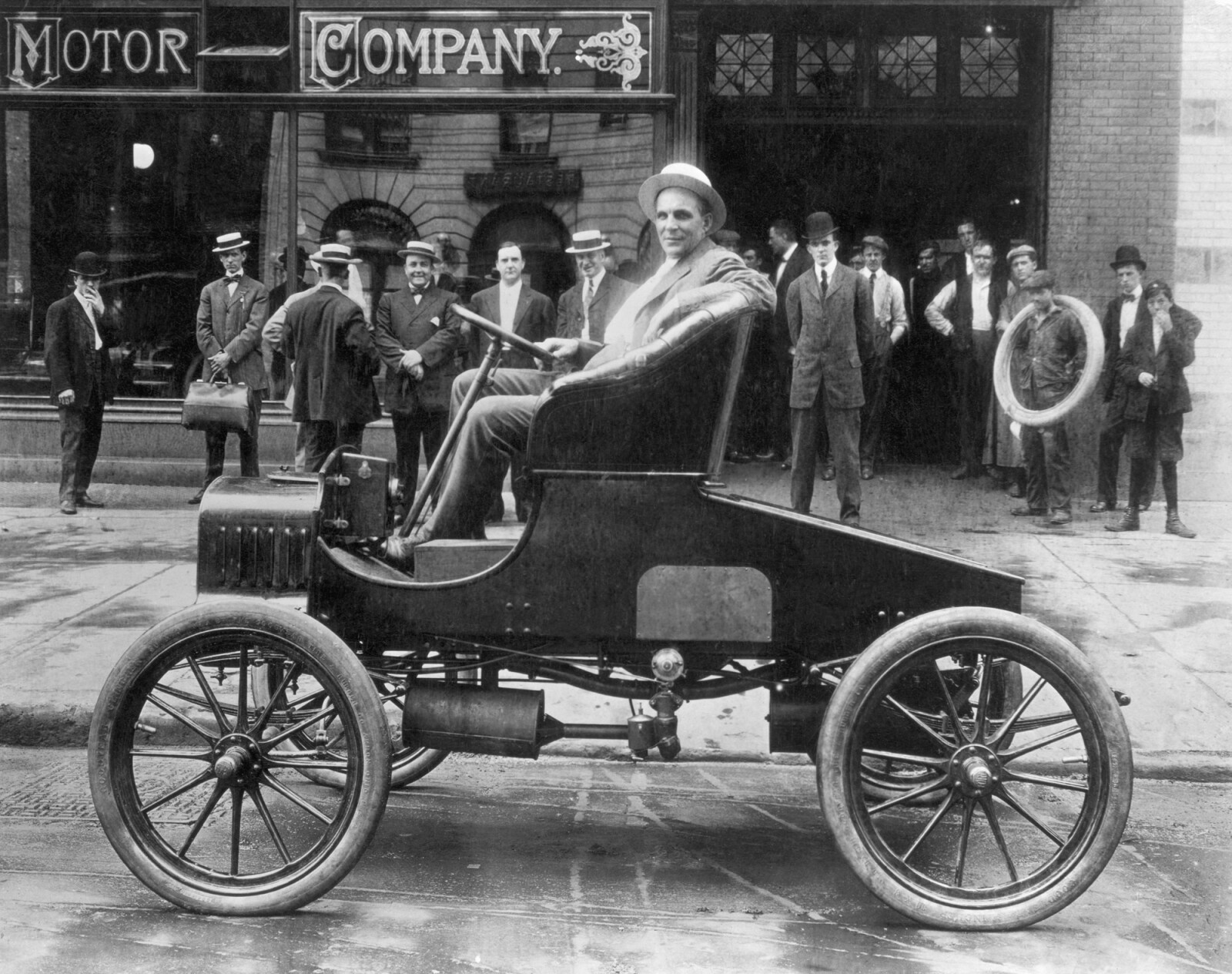 The Ford Motor Company is incorporated