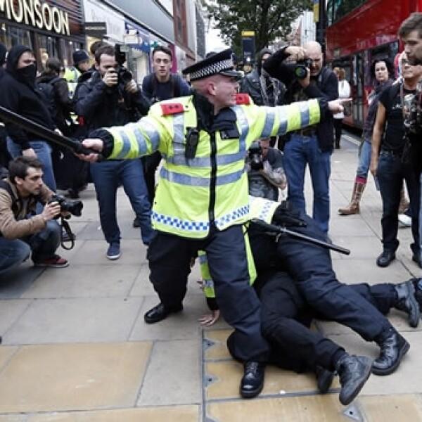 Londres protestas recortes 4
