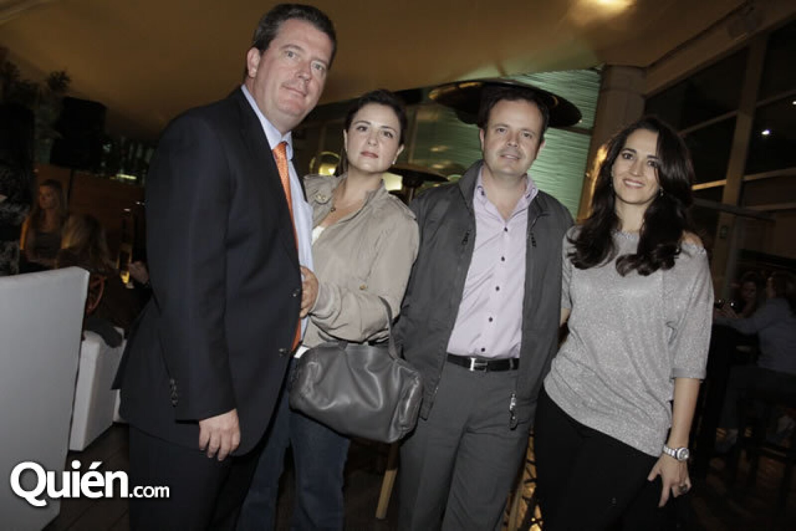 Enrique y Paty Morales, Marcel y Gabriela Vinay