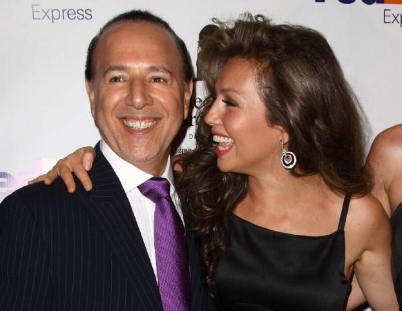 Thalía y Tommy muestran que entre ellos existe una gran complicidad.