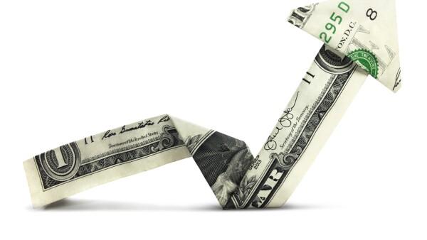 Un dólar estadounidense firme