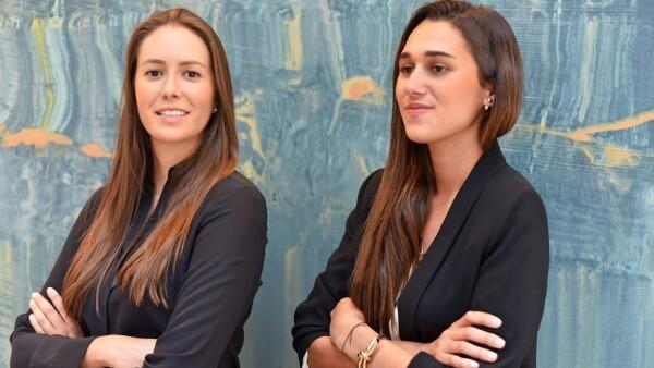Myrtha Herrera Almanza y Maria Teresa Carmona Aristeguieta